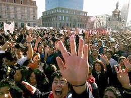 universitarios chilenos