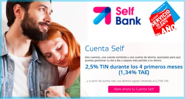 cuenta self manten vivo dinero
