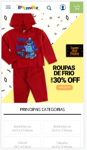 atrair clientes para loja de roupas de bebê