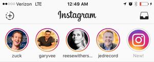 como publicar stories no instagram