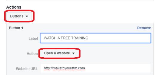 Mensagem Patrocinada Facebook 4