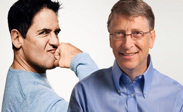 Mark Cuban E Bill Gates