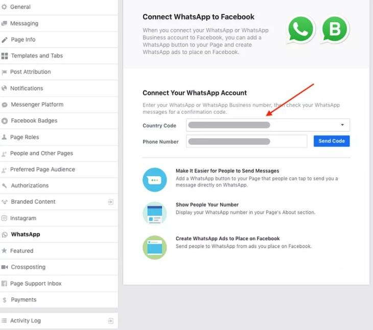 Como Colocar O Link Do Whatsapp No Facebook 1
