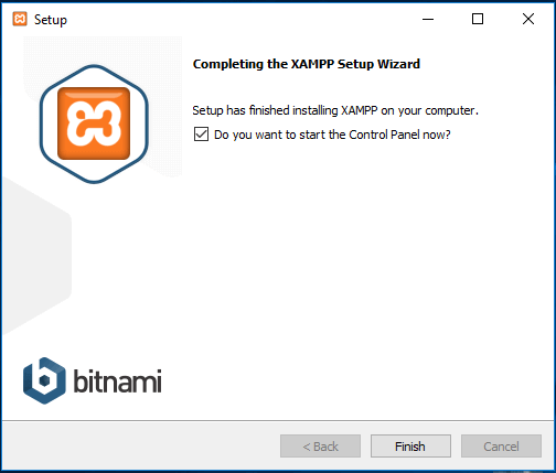 Instale o XAMPP