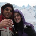 Lua-de-mel em El Calafate, na Argentina