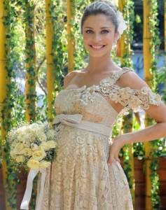 Vestido de noiva da Lívia, de Negócio da China