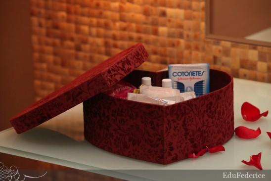 Casamento: kit toilete (caixinha emergência banheiro). Foto: Edu Federice.