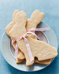 Biscoito em forma de coelho para chá de cozinha inspirado em Alice no país das maravilhas