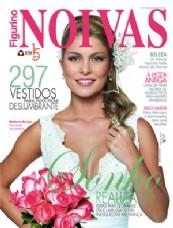 Casamento: Capa Revista Figurino Noivas 57 (Bárbara Borges)