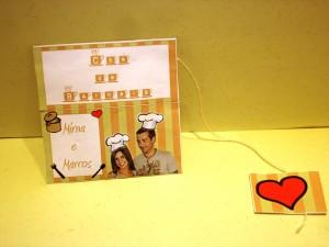 Casamento: Convite de chá de cozinha