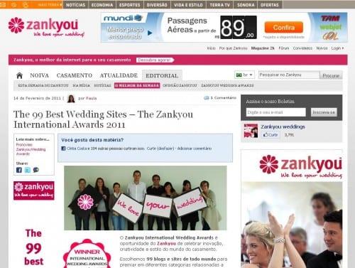 Zankyou Awards 2011