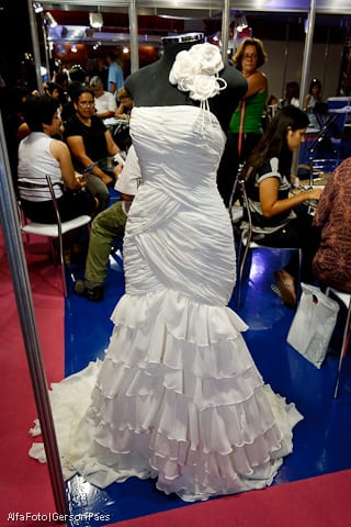 Vestido de noiva corte sereia, da Maison das Noivas