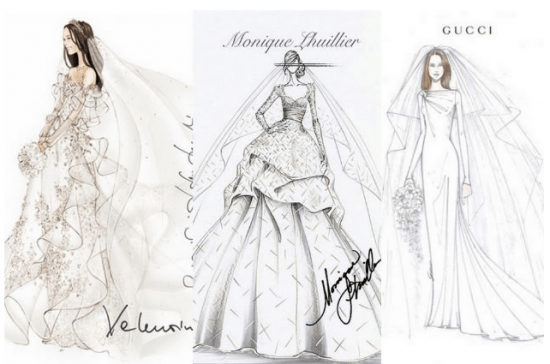Qual será o vestido de noiva Kate Middleton