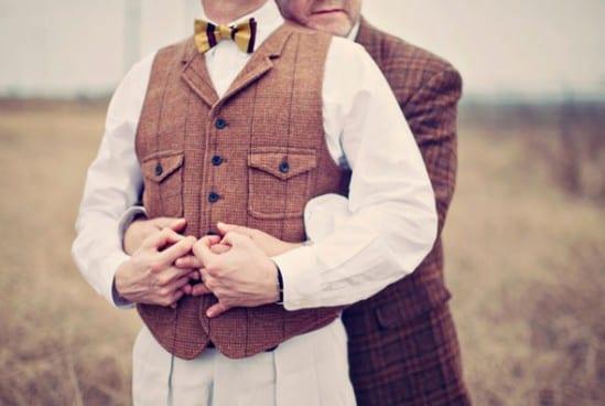 Casamento gay: trajes dos noivos
