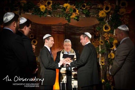 Casamento gay judeu