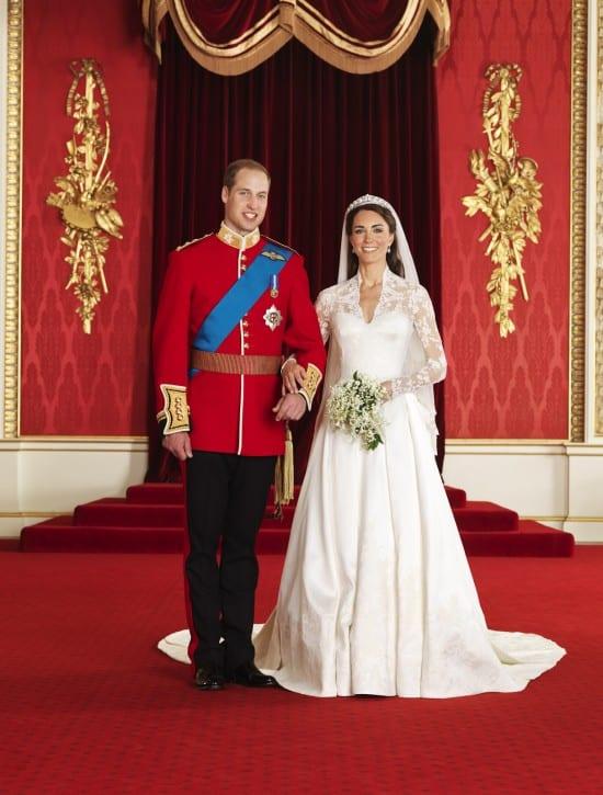 Foto oficial do casamento real de Príncipe William e Kate Middleton