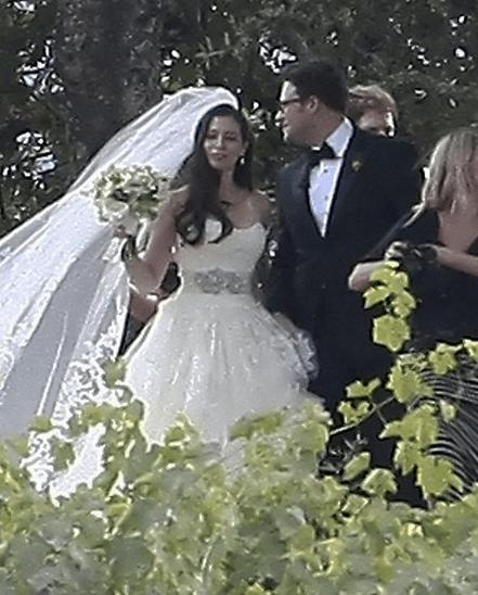 Casamento Seth Rogen e Lauren Miller