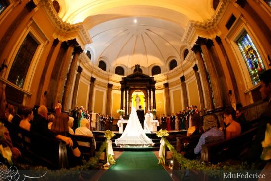 Altar - Paróquia São Luís Gonzaga - Foto: Edu Federice.
