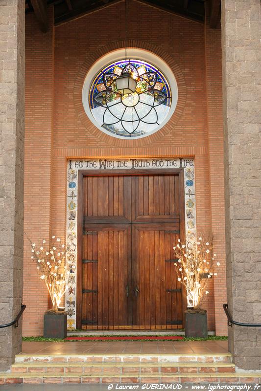 Igrejas para casar - Catedral Anglicana de São Paulo: porta. Foto: Laurent Guerinaud.