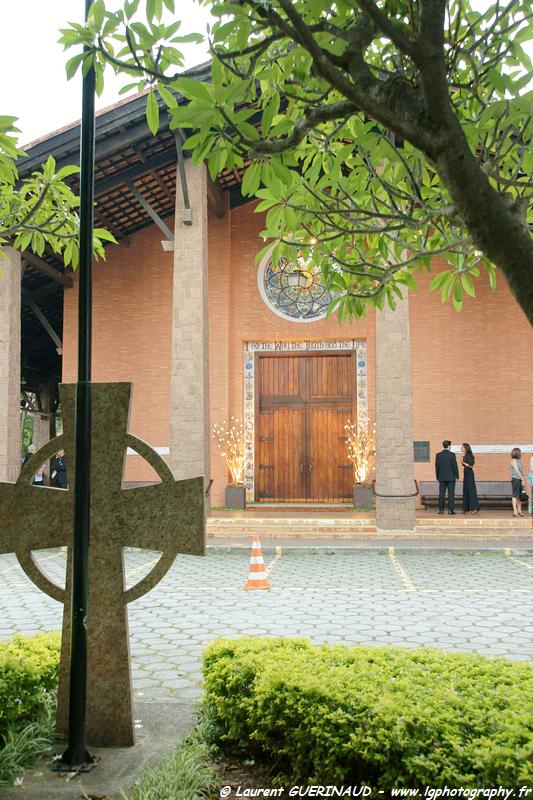 Igrejas para casar - Catedral Anglicana de São Paulo: vista da entrada. Foto: Laurent Guerinaud.