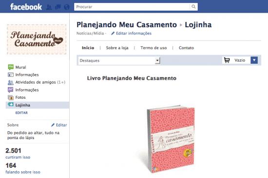 Livro Planejando Meu Casamento à venda no Facebook