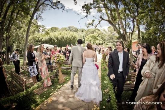 Casamento no campo: Espaço Natureza. Foto: Sobre Nós Dois.