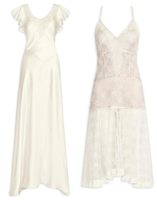 Camisolas de noiva - Emmanuele Junqueira para Jogê.