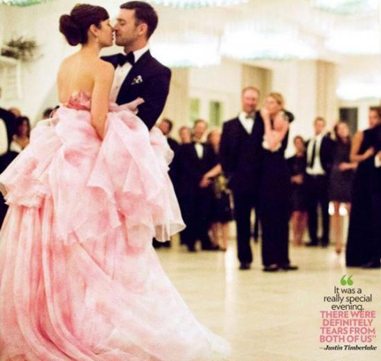 Casamento de Justin Timberlake e Jessica Biel: primeira valsa dos noivos