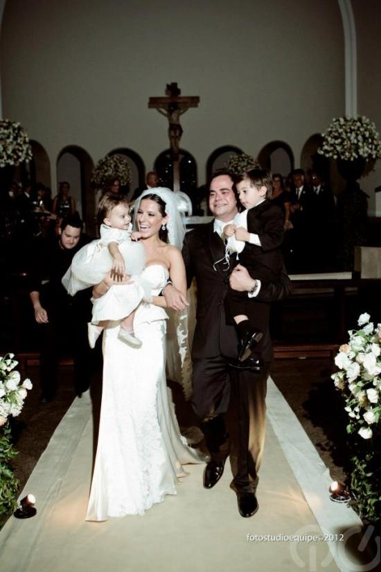 Casamento Carioca, do Pânico: saída dos noivos. Foto Studio Equipe.