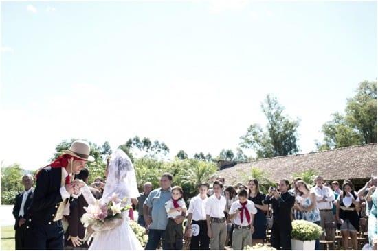 Casamento gaúcho na fazenda. Foto: Beth Esquinatti.