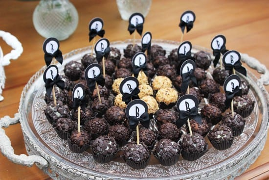 Brigadeiro gourmet em casamentos. Foto: david.melojunior@gmail.com.