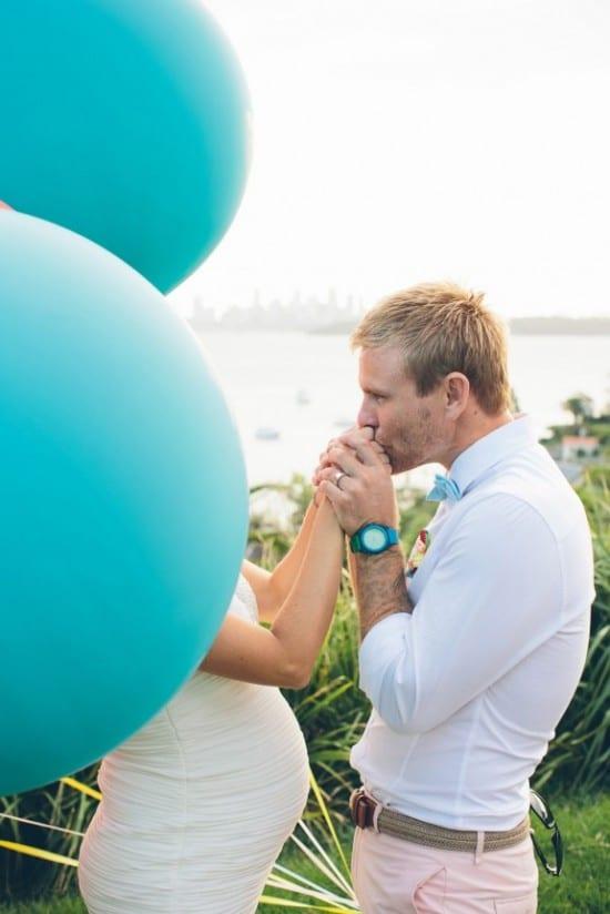 Casamento: noivo com traje claro em tons pastéis. Foto: David Campbell Imagery.