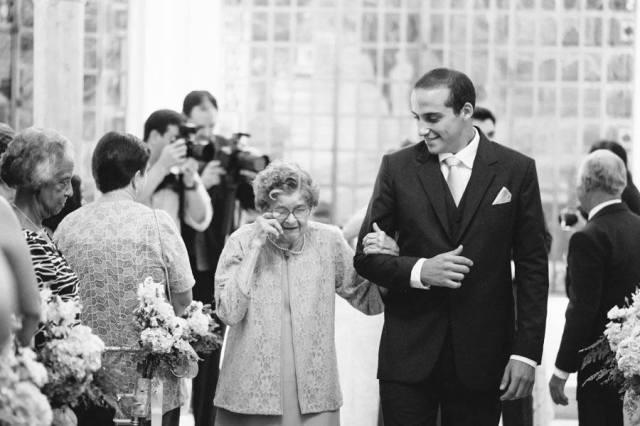 Casamento: a saída da avó da noiva. Foto: danilo Siqueira.