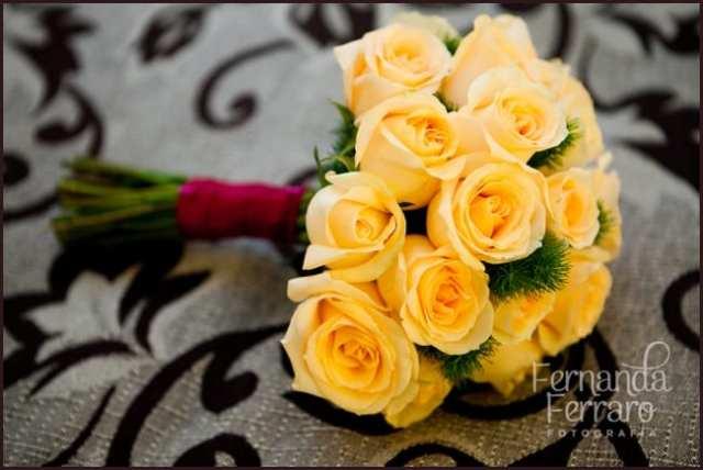 Buquê de rosas amarelas. Foto: Fernanda Ferraro.