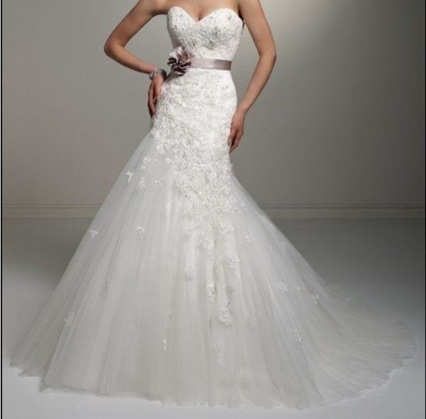 Vestido de noiva por R$530