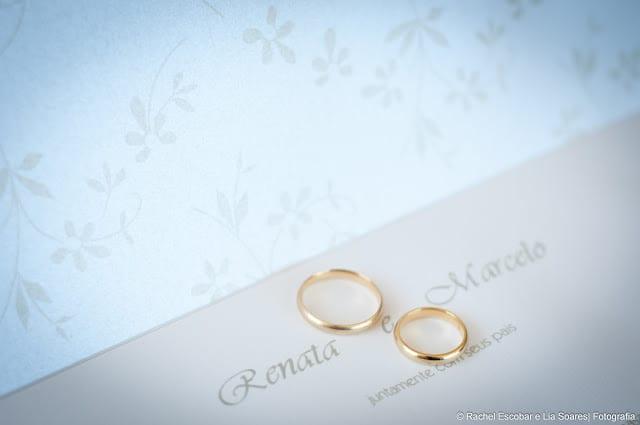 Convite de casamento. Foto: Rachel Escobar.