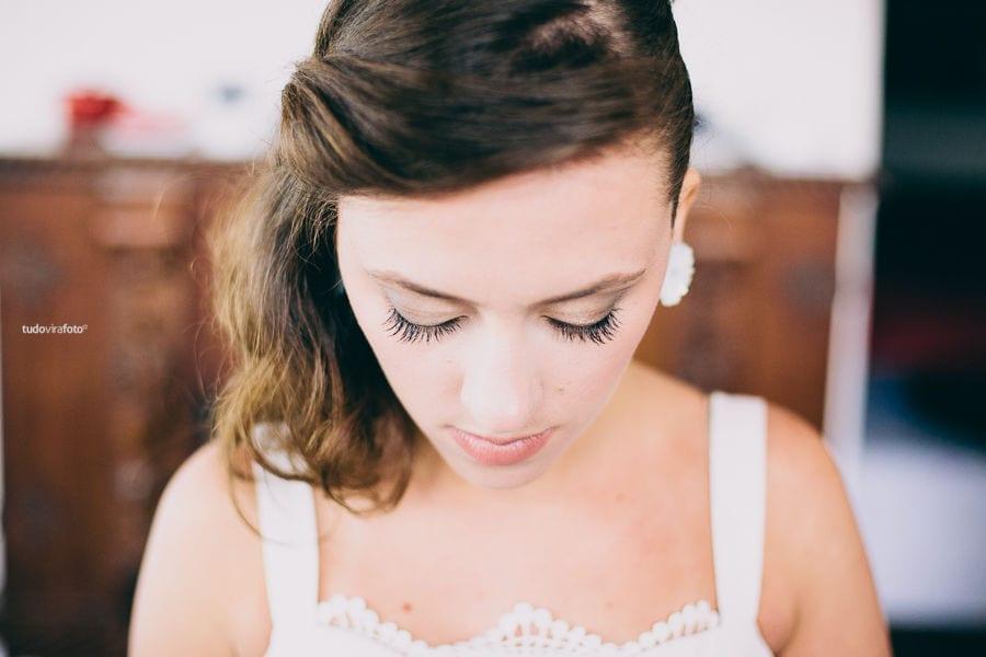 Maquiagem para noivas: nude e natural. Foto: TudoViraFoto.