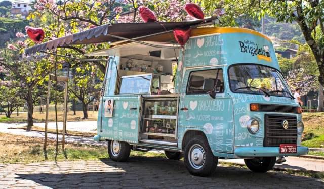 Food truck Cadê Meu Brigadeiro? para festa de casamento.
