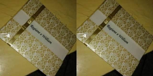 Convite de casamento barato feito em casa: passo a passo.