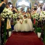 Casamento de Raul Lemos, do MasterChef, e Laura Gianfaldoni. Foto: Chris Souza.