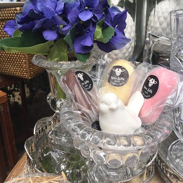 Sorvete para casamento da Vero Latte Gelato na feira de noivas Cheers Off.