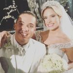 Selfie dos noivos. Casamento de Wesley Safadão e Thyane Dantas.