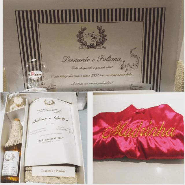 Fotos do casamento Gusttavo Lima e Andressa Suita. Convite dos padrinhos.