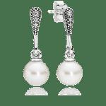 Jóias para madrinhas de casamento da linha Bridesmaid Gift da Pandora: Brinco Beleza Vintage.