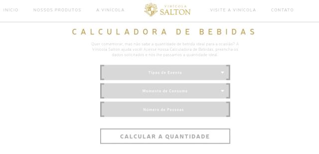 Calculadora de bebidas para eventps: Salton ajuda a calcular a quantidade de espumante para seu casamento
