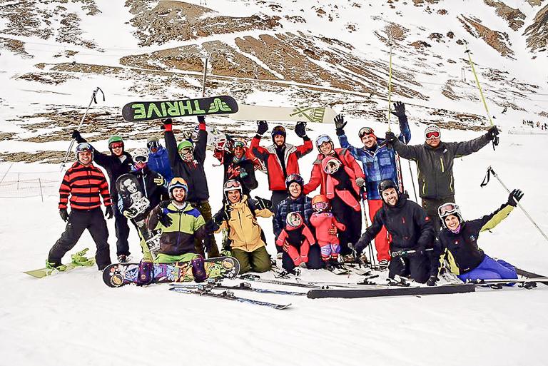 Primeira Turma de Instrutores de Ski e Snowboard da ABISS