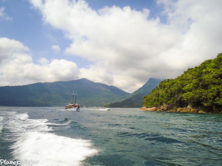 Saindo para o Passeio de Meia Volta à Ilha Grande