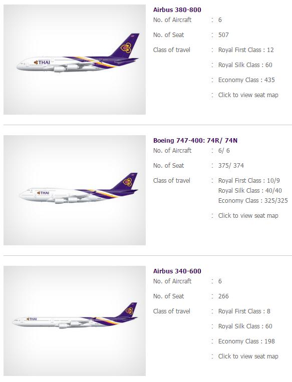 Thai Airways aircraft