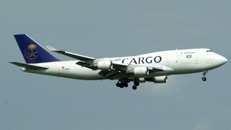 Boeing 747-481(BDSF) TC-ACG Saudia - Saudi Arabian Airlines Cargo