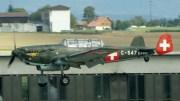 EKW C-3603 D-FRBI/C-547 private/Swiss AF colours